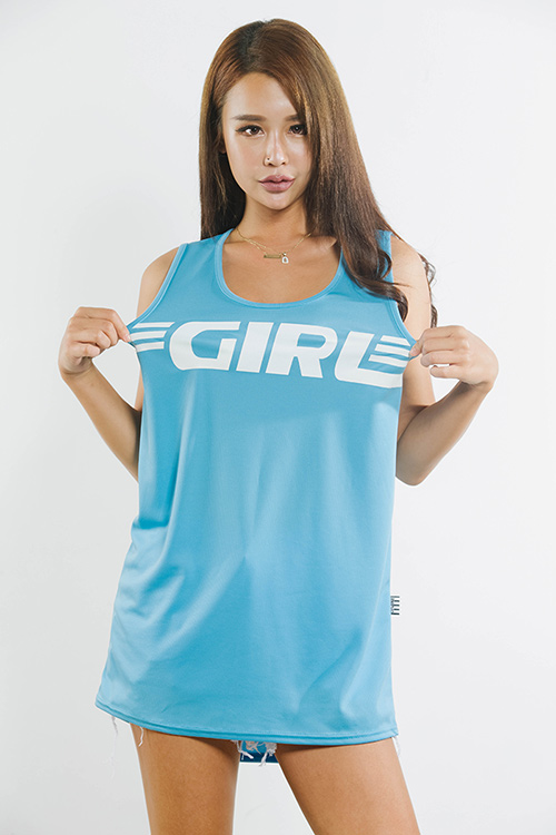 블랙피치(sale) GIRL Basketball Mesh Jersey Top